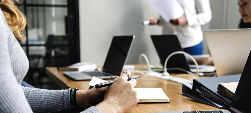 business meeting strategy development